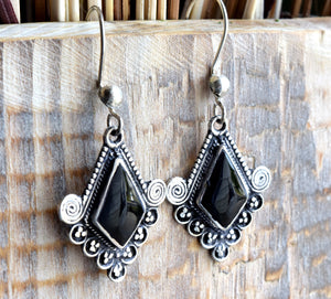 Onyx Stone Earrings