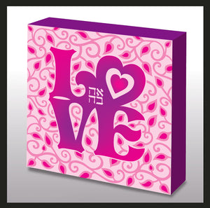 Pop Art Pink LOVE