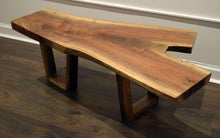 Black Walnut Split Coffee Table