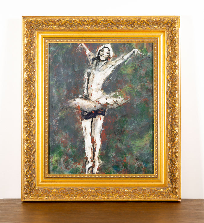 Pirouette Ballerina - Red Bank Artisan Collective jewelry art vintage recycled Artwork, Steve Schiro