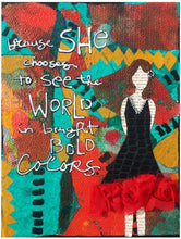Mixed Media Art Canvas Class - Inspirational Ladies (March 14th 10-1PM) - CANCELED!