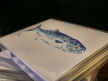 Gyotaku Printed Notecards