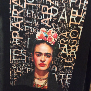 Frida Kahlo - Black Words T-shirt