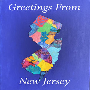 New Jersey Mixed Media Canvas Custom Orders