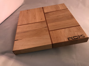 Rock Maple with Mahogany and Companion Board