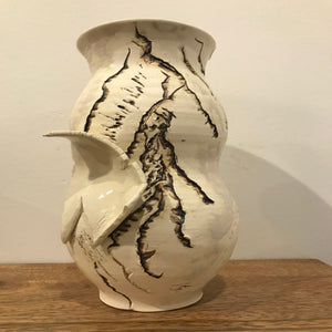 Thrown and Altered Vase II
