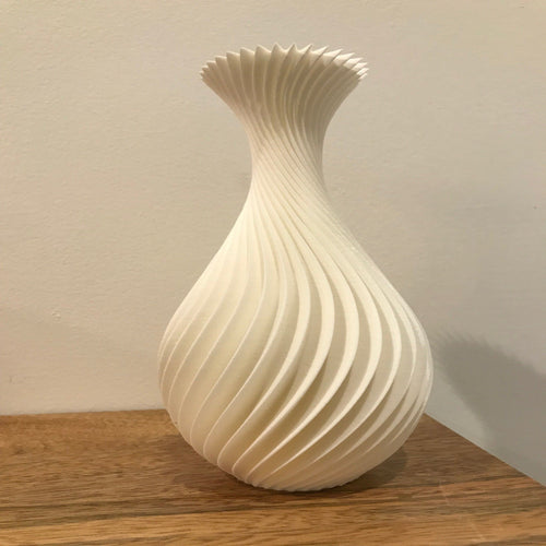 3D Waves Vases (large)