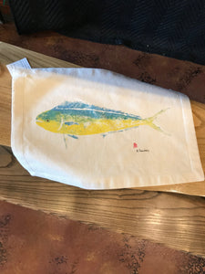 Gyotaku Canvas Placemats