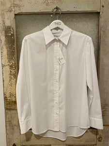 Finley White Button Down