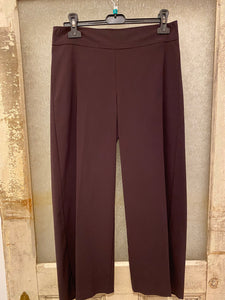 Avenue Montaigne Alex Plum Pull-On Pant