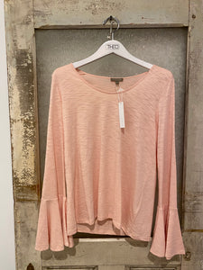 Lilla / P Pink Bell Sleeve Top