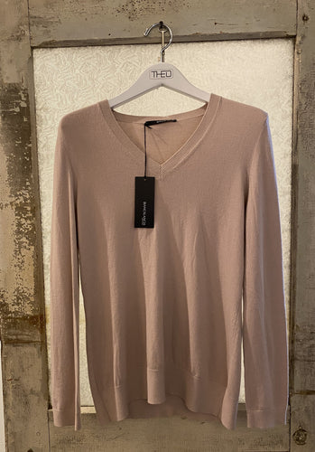 Biancalancia Taupe Cashmere Sweater