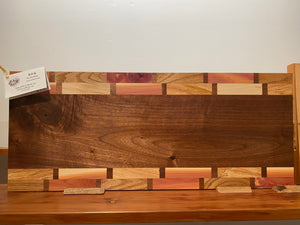 Multi-Wood Cutting Board