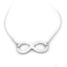 Sterling Silver Infinity Necklace Infinity Jewelry