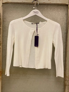 Laurel Pearl White Shrug