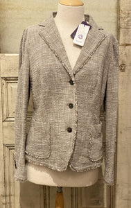 Laurel Gray Tweed Blazer