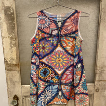 Fine Art Multi-color Sleeveless Dress