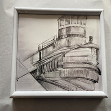 Tug Benjamin Elliot Small Framed Prints - 2017