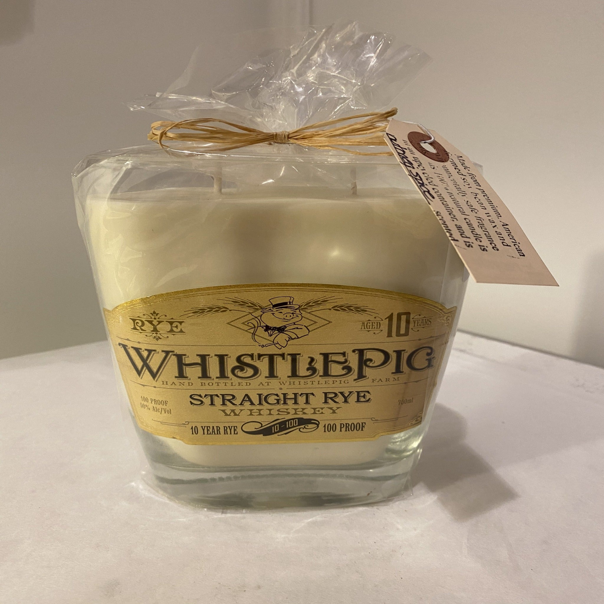 Whistle Pig Scented Candle