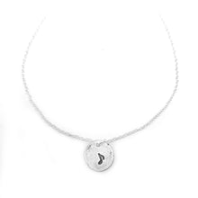 Pure Silver Music Note Necklace Nugget