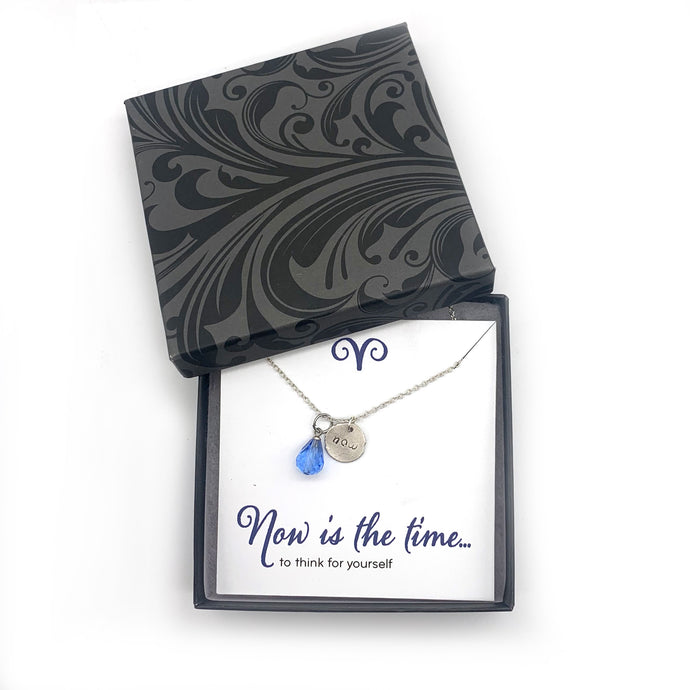 Think For Yourself Inspirational Jewelry - Looking Forward Collection