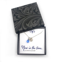 Personalized Necklace Inspirational Jewelry - Looking Forward Collection
