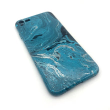 Hydro Dipped Phone Cases in Blue White and Black - iPhone 7, iPhone 8, iPhone SE (2020)