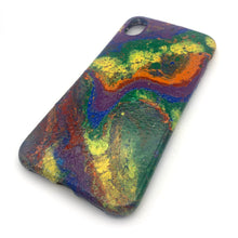 Hydro Dipped Phone Cases in Rainbow Colors - iPhone XR