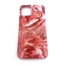 Hydro Dipped Phone Cases in Red and White - iPhone 12 and 12 Pro