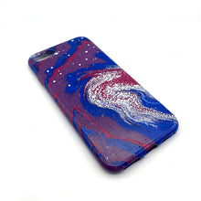 Hydro Dipped Phone Cases in Red White and Blue - iPhone 7, iPhone 8, iPhone SE (2020)