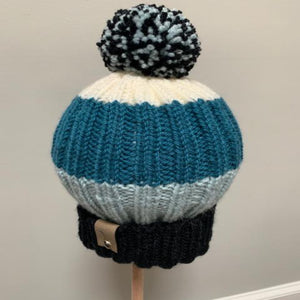 Just Breath Knitted Hats