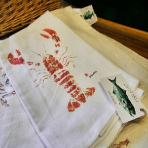 Gyotaku Kitchen Dish / Tea Towel