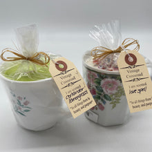 Vintage Coffee Cup Candles