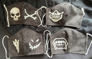 Design Your Own Mask (Favorite Band, Sports Team, Other)
