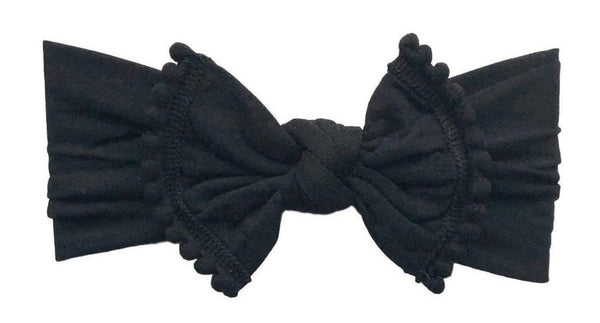 Pom Pom Everything Knot | Black