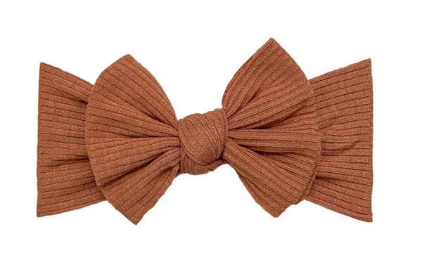 Ribbed Knot | Terracotta