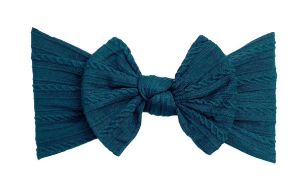 Everything Cable Knot | Midnight Teal