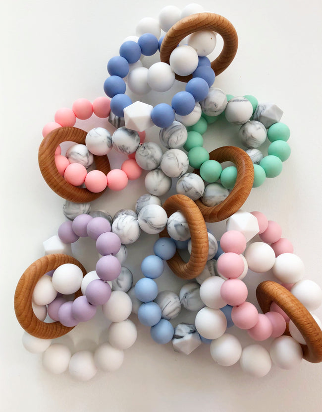 Infinity Teether | Baby Blue