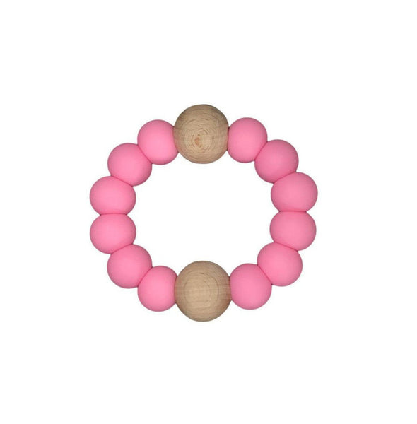 Luna Teether | Hot Pink