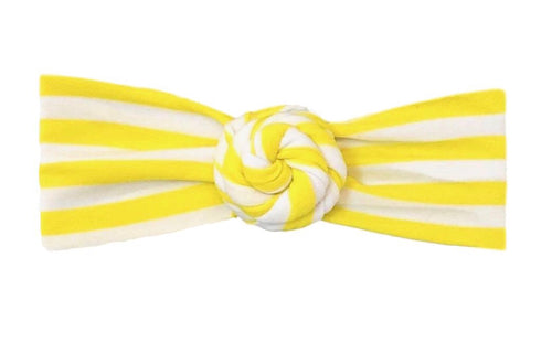 Everything Bun | Yellow + White Striped