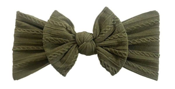 Everything Cable Knot | Army Green