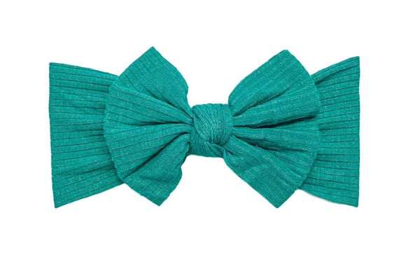 Ribbed Knot | Turquoise