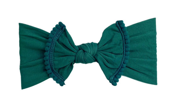 Pom Pom Everything Knot | Emerald