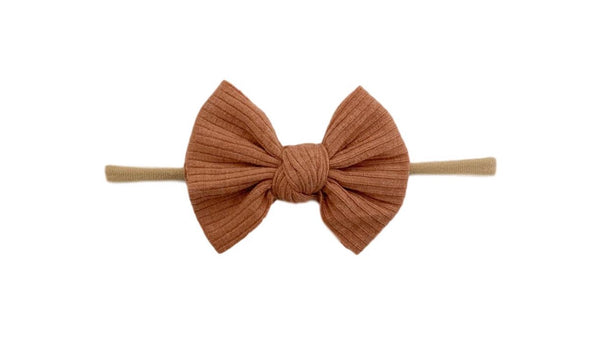 Skinny Ribbed Knot | Terracotta