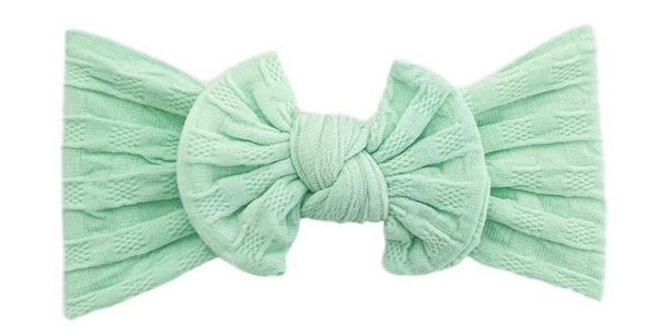 Everything Waffle Knot | Mint