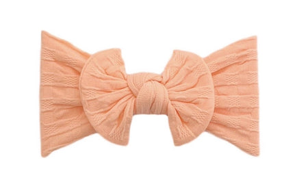 Everything Waffle Knot | Peachy Pink