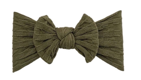 Everything Waffle Knot | Army Green