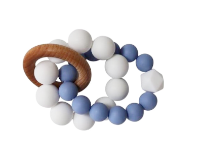 Infinity Teether | Tranquility Blue