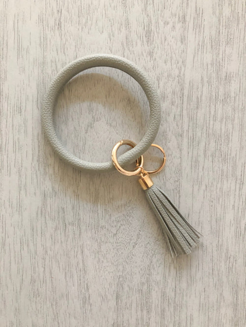 Key Ring Bracelet | Gray