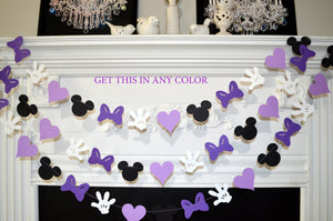 Minnie Mouse Birthday Banner 1st Party